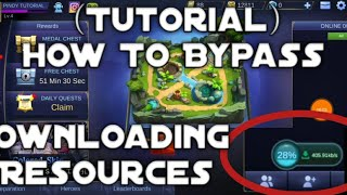 Tutorial How to Bypass Mobile Legends Downloading resources