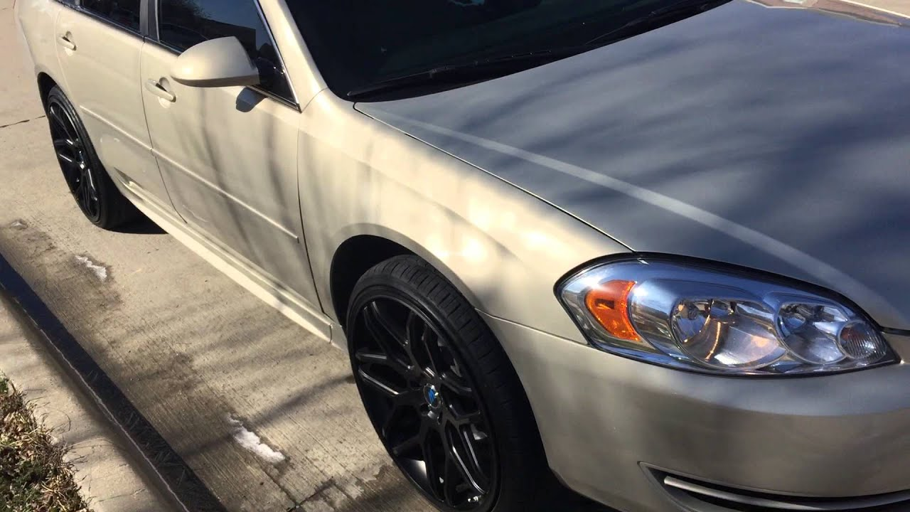 2012 Impala On 22 Quot Rims Youtube