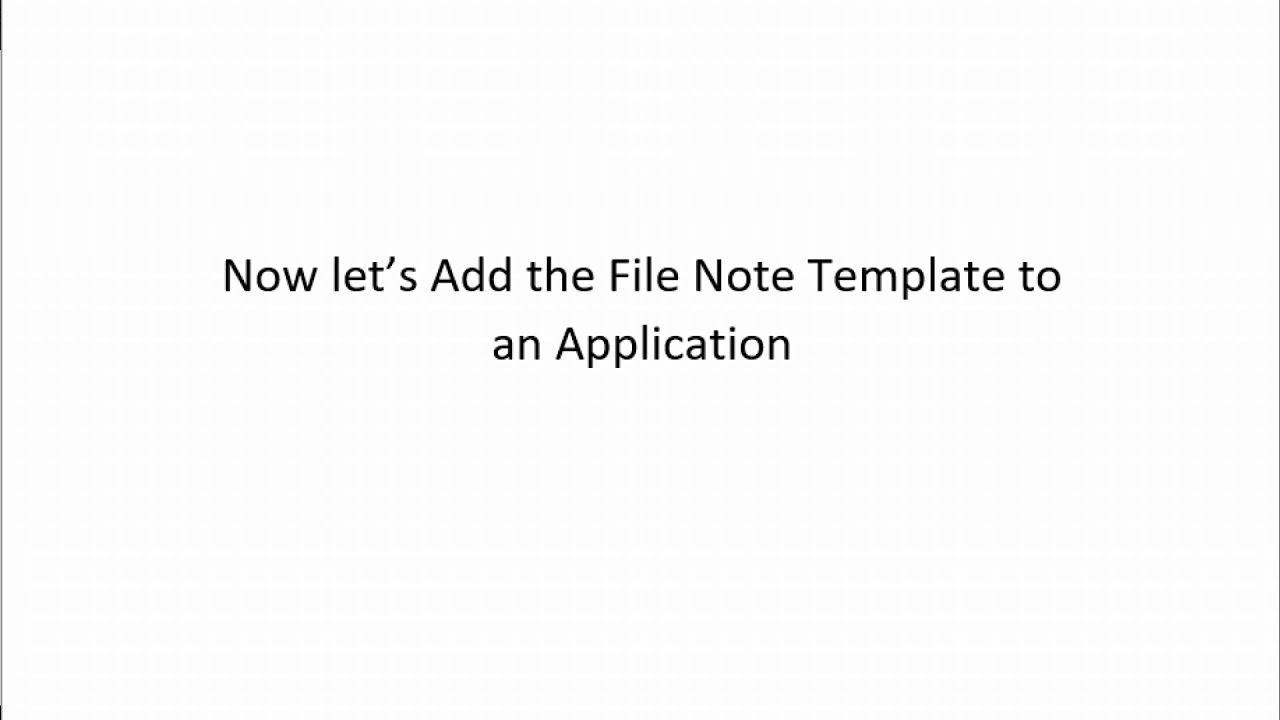 permassist system admin managing managing file note template youtube