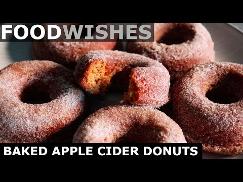 Baked Apple Cider Donuts - Food Wishes