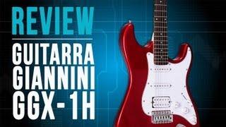 Conheça a Guitarra Giannini GGX-1H no TVCifras Review