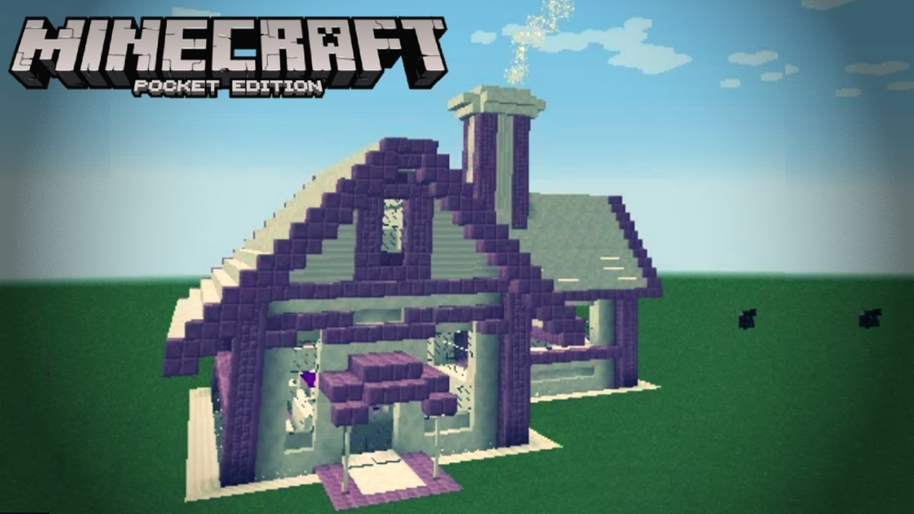 Minecraft Builds Guide Quartz Purpur Modern House Build