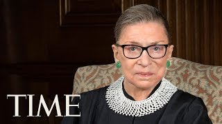 US Supreme Court Justice Ruth Bader Ginsburg Discusses Her Impressive Life And Career | LIVE | TIME