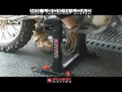 Risk Racing Lock N Load moto transport system - No more motorcycle tie downs