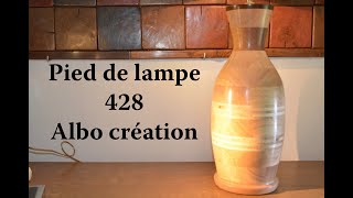 TOURNAGE PIED DE LAMPE - 428