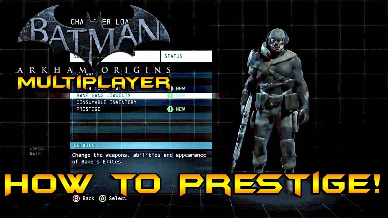 batman arkham origins multiplayer