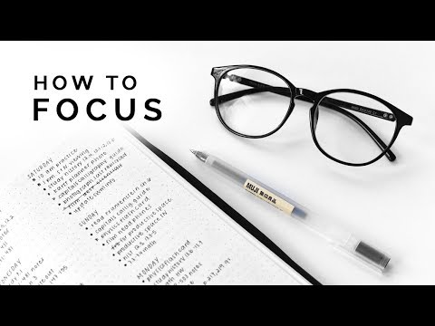 9 ways to improve your focus �� train your brain!