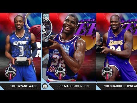 NBA 2K16 PS4 My Team - All Star Game MVPs!