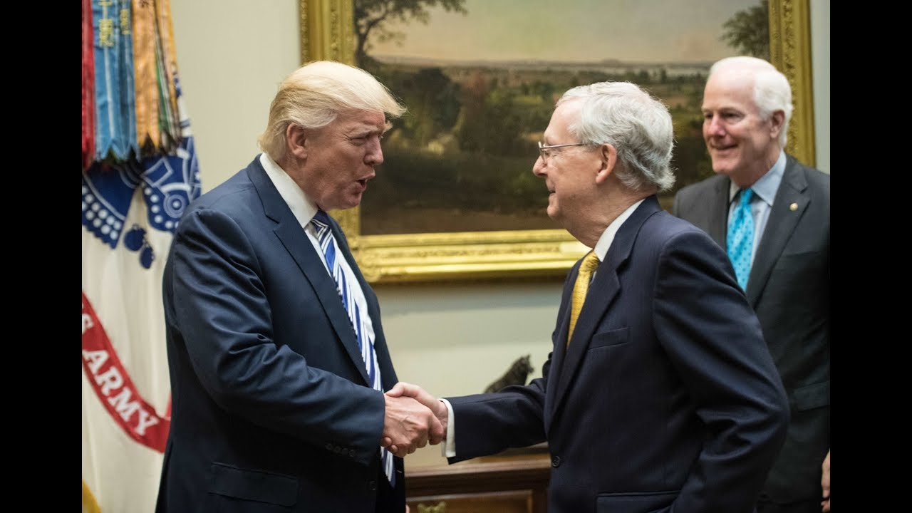 Mitch McConnell Acquits President Trump Before Senate Impeachment Trial Begins - H.A. Goodman
