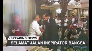 Momen Presiden Joko Widodo Tiba Di Rumah Duka BJ Habibie