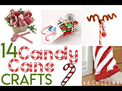 Candy Cane Crafts For Christmas