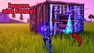 3 insane and hilarious glitches in 1 video (New) Fortnite glitches season 8