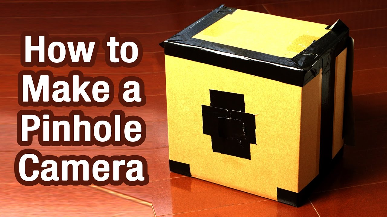 how to make a pinhole camera youtube. Black Bedroom Furniture Sets. Home Design Ideas