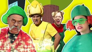 فوزي موزي وتوتي – البطيخة والساحر - The magician & the watermelon