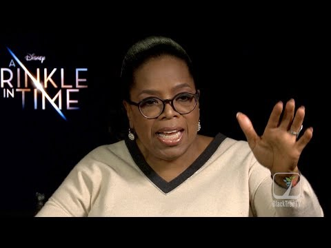 Oprah gives master class on Manifestation and Vision Boards - A Wrinkle in Time