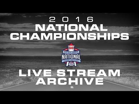 2016 USYS Nationals: FC Golden State Platinum vs Santa Barbara - U18 Boys - Day 5 - Field 8 - 9:00am