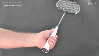Video Badminton backhand - 1 of 3  grip download MP3, 3GP, MP4, WEBM, AVI, FLV Agustus 2018
