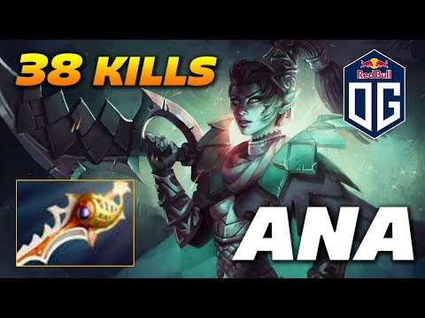 Ana Phantom Assassin - 38 KILLS - Dota 2 Pro Gameplay