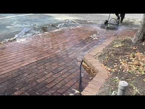 ADVANCED EXTERIOR MAINTENANCE BRICK WALKWAY CLEANING #2