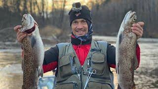 Рыбалка в Тайге Таймень Ленки гнут удочки Водометный штурм реки Бикин ЮНЕСКО