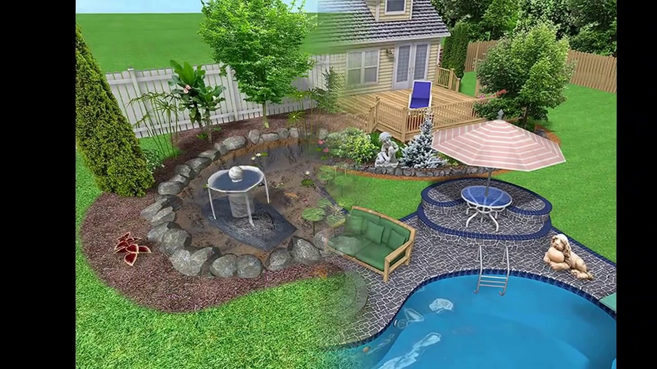 Simple garden design ideas - YouTube