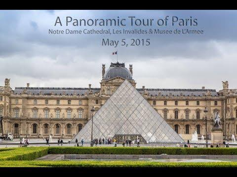 Panoramic Tour Of Paris, May 5, 2015