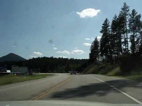 Hill City, SD Scenic Train and Black Hills