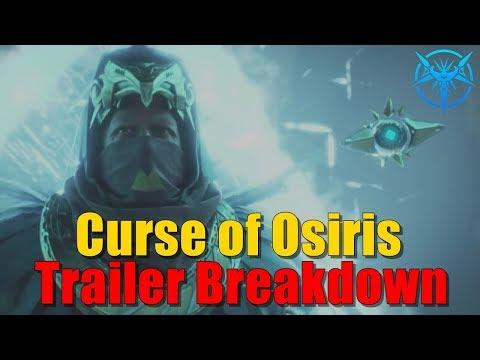 THORN RETURNS? FREE TRIPS TO THE LIGHTHOUSE? Destiny 2 Curse of Osiris Trailer Breakdown