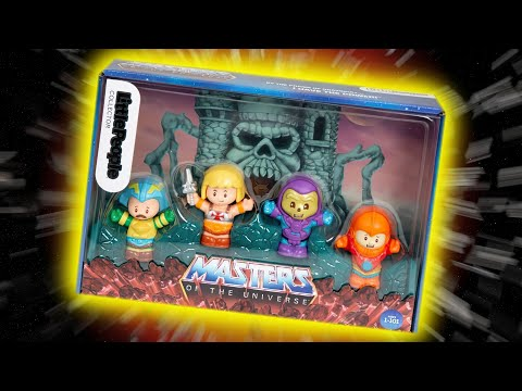 Masters Of The Universe Little People Set Discussion (BY FISHER-PRICE)