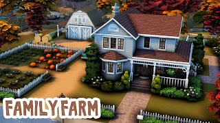 Family Farm 🐓 || The Sims 4: Speed Build