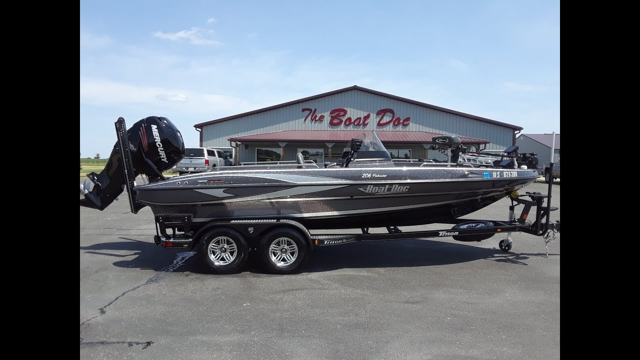 2018 Triton 206 Fishunter *SOLD*