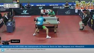 France Championships 2016 - Alexandre Cassin Vs Stephane Ouaiche - (1/4 Final)