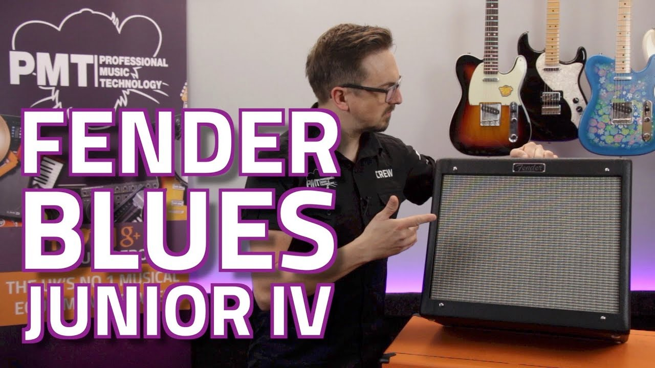 fender blues junior iv valve combo new features review demo youtube. Black Bedroom Furniture Sets. Home Design Ideas
