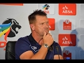 Eric Tinkler on winning Coach of the Month