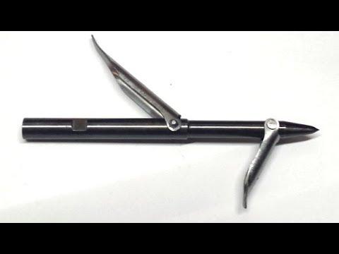 Linghunt B2521 03 Speargun Tips  Dual PIN Dual Wing VERSION