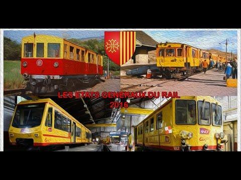 Présentation de la ligne du Train Jaune pour les états-généraux du rail 2016!