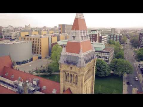 University of Manchester Flyover Full HD