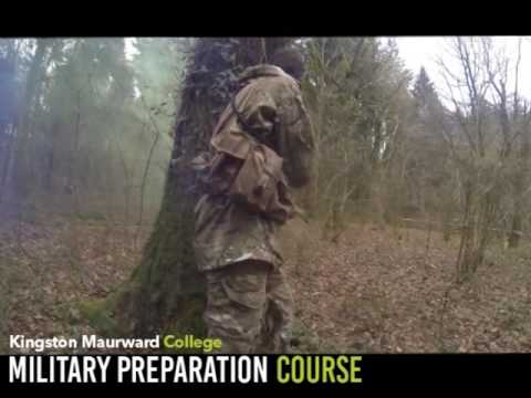 Military Preparation Long Promo video with graphic