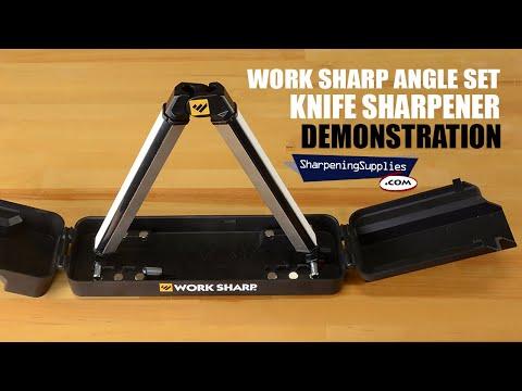 Work Sharp Angle Set Knife Sharpener - Explanation And Demonstration