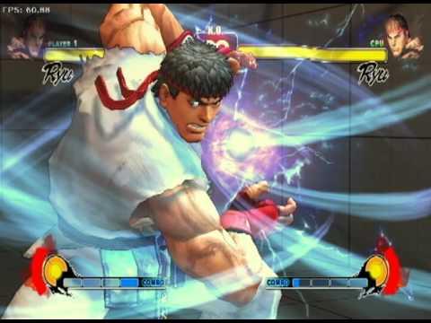 Ryu Ultra I - Metsu Hadoken HD - YouTube
