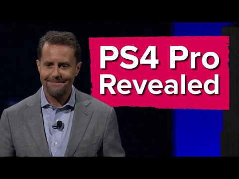 Sony reveals the PS4 Pro   PlayStation 4K  Poster