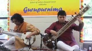Music of Maihar 2013 - Sitar Sarod Duet - Kaushi Bhairav Aalaap