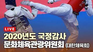 [LIVE] 2020년도 국정감사 문화체육관광위원회(대…