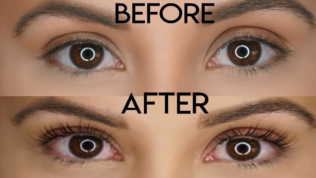 Lash Lift Tint See My Eyelashes Before After Youtube