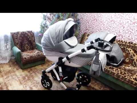 Адамекс Аспена   видео коляски 2в1 детской Adamex Aspena