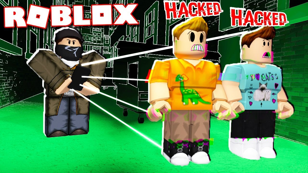 Escape The Bathroom Hacked roblox adventures - can you hack the pals in roblox! (watch dogs