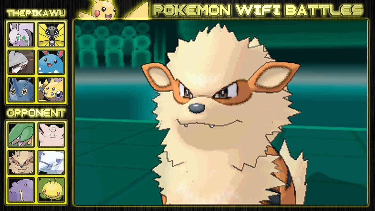 Arcanine's Fiery Attacks! (Pokemon X and Y Wifi Battle ...