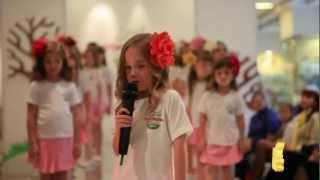 Милана Ерошина | Milana Eroshina на конкурсе Little Top Model of Russia 2012(Выступление на Первом Всероссийском конкурсе