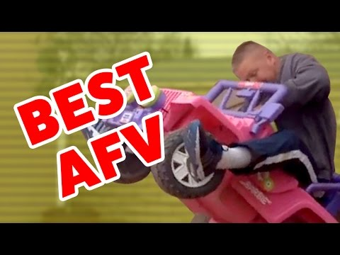 AFV Funniest Stupid Stunts & Moments Gone Wrong Caught On Tape