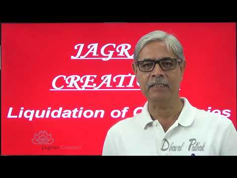 Corporate  Accounting, Liquidation of Companies Lecture 1